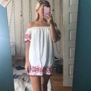 Forever 21 off the shoulder dress size s